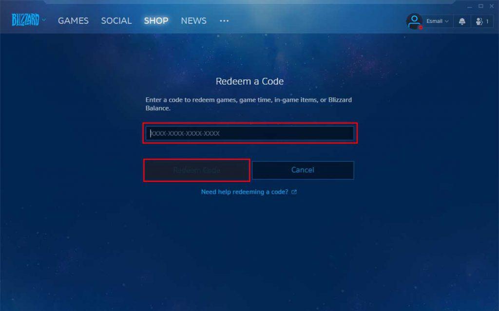 صفحه-Redeem-Code