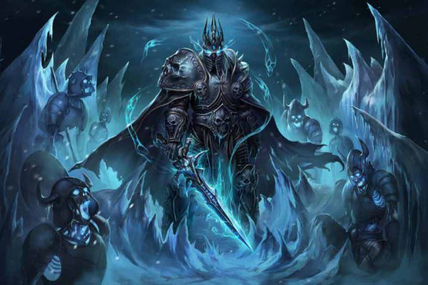 معرفی-شخصیت-آرتاس-منتیل-Lich-King-در-بازی-World-of-Warcraft
