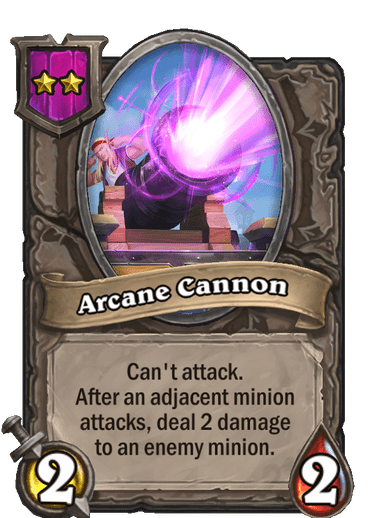 31Arcane Cannon