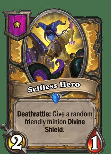 3Selfless Hero