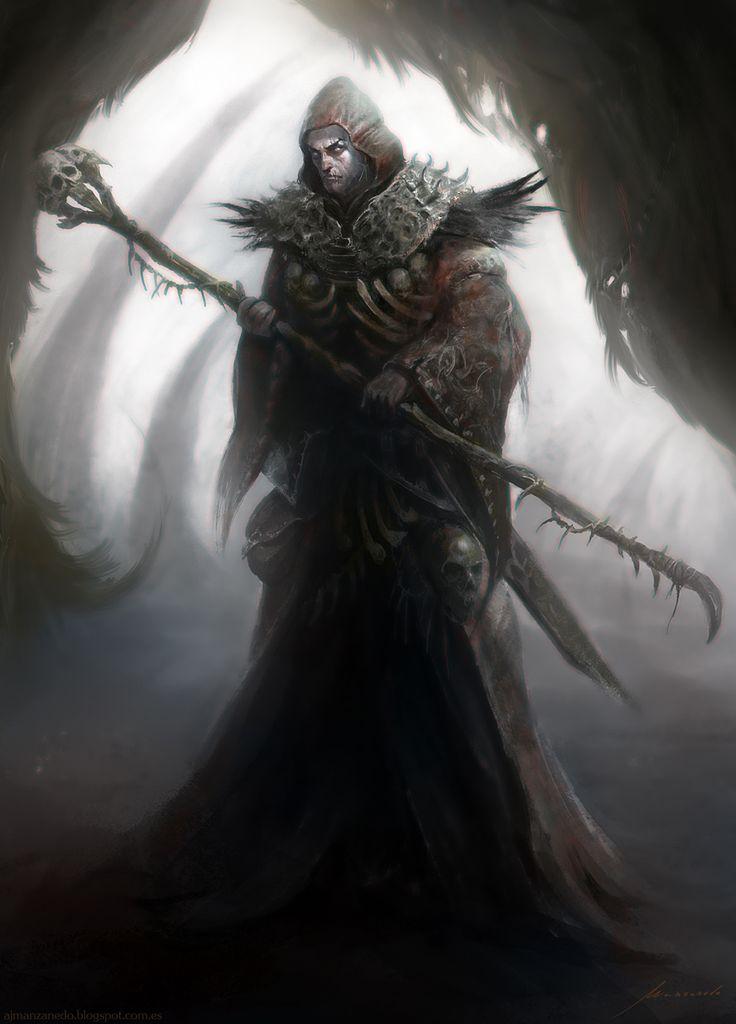 کلاس Necromancer در بازی Diablo