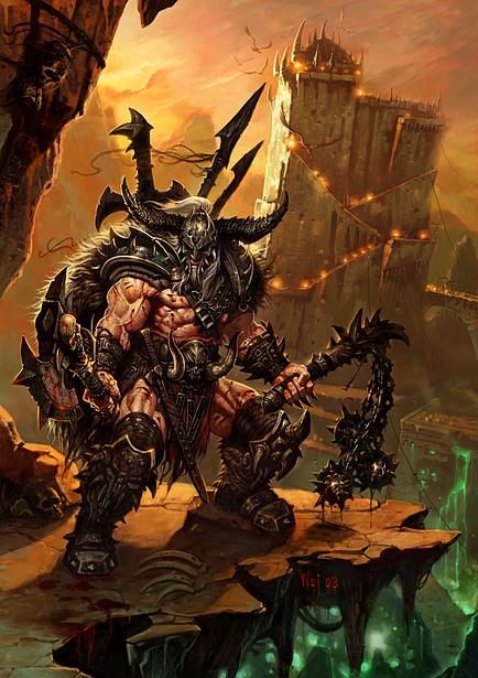 کلاس Barbarian در بازی Diablo