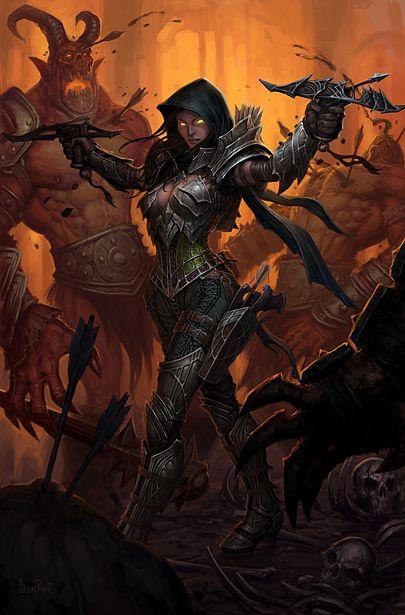 کلاس Demon Hunter در بازی Diablo