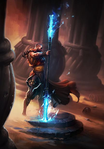 کلاس Monk در بازی Diablo
