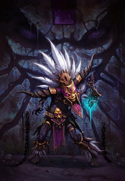 کلاس WitchDoctor در بازی Diablo